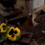 Coffee and chocolate — Stock Photo #9261467