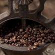 Stock Photo: Antique coffee grinder