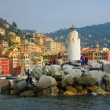 Country camogli - Stock Photo