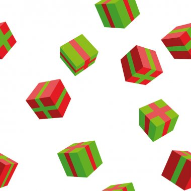 seamless, background, pattern, gifts, holiday, paper, packaging, boxes, surprise.