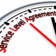 Stock Photo: Service-level agreement