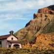 Stock Photo: Church in Teide National Park, Tenerife.