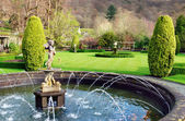 Fountain At Rydal Hall, Lake District, England — Stock Photo