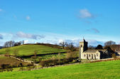 Quaint English Rural Church — Stock Photo