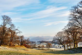 Wintry Morning English Lake District — Stock Photo