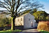 English Rural Stone House — Stock Photo