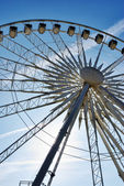 Center of large ferris wheel — Stock Photo