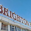 Stock Photo: Brighton Pier Sign