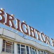 Brighton Pier Sign — Stock Photo