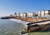 Beachfront And Promenade, Brighton — Stock Photo