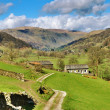 Stock Photo: Picturesque farm in English Lake District