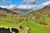 Picturesque farm in English Lake District — Stock Photo