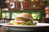 Veggie burger — Stock Photo