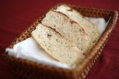 Bread in busket — Stock Photo