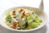 Caesar salad in close up — Stock Photo