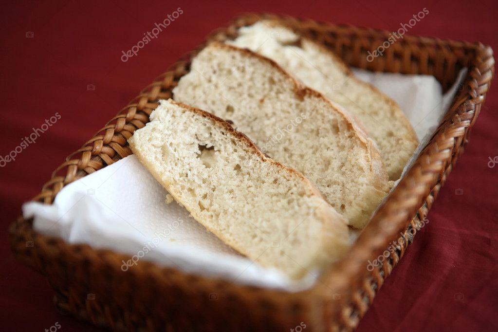 Bread in busket  Stock Photo #10245421