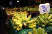 Banana in night market — Stock Photo