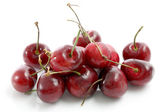Cherry isolated in white background — Stock Photo