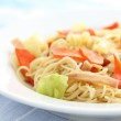 Stir fried noodles Chinese food — Stock Photo