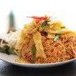 Thai food crisp fried noodles — Stock Photo