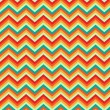 Pattern Retro Zig Zag Chevron Vector — Stock Vector #10120252