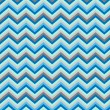 Stock Vector: Pattern Retro Zig Zag Chevron Vector