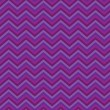 Pattern Retro Zig Zag Chevron Vector - Stock Vector