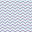 Pattern Retro Zig Zag Chevron Vector — Vettoriali Stock