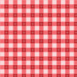 Stock Vector: Pattern picnic tablecloth vector