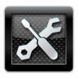 Tools metal icon — Stock Photo