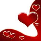 Valentine's love background — Stock Photo