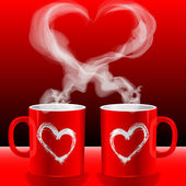 Love's cups — Stockfoto