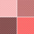 Seamless pattern hearts - Stock Vector