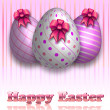 Happy Easter Greeting Card — Stock Vector #9135265