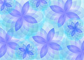 Background abstract lotus flower vector — Stock Vector