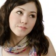 Thinking young woman — Stock Photo