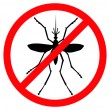 Royalty-Free Stock Vector Image: Stop mosquito