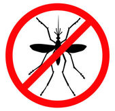 Stop mosquito — Stock Vector