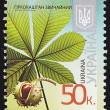 Ukrainian Postal Stamp — Stock Photo #10403462