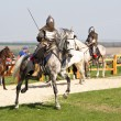 Riding knight — Stock Photo #10586542