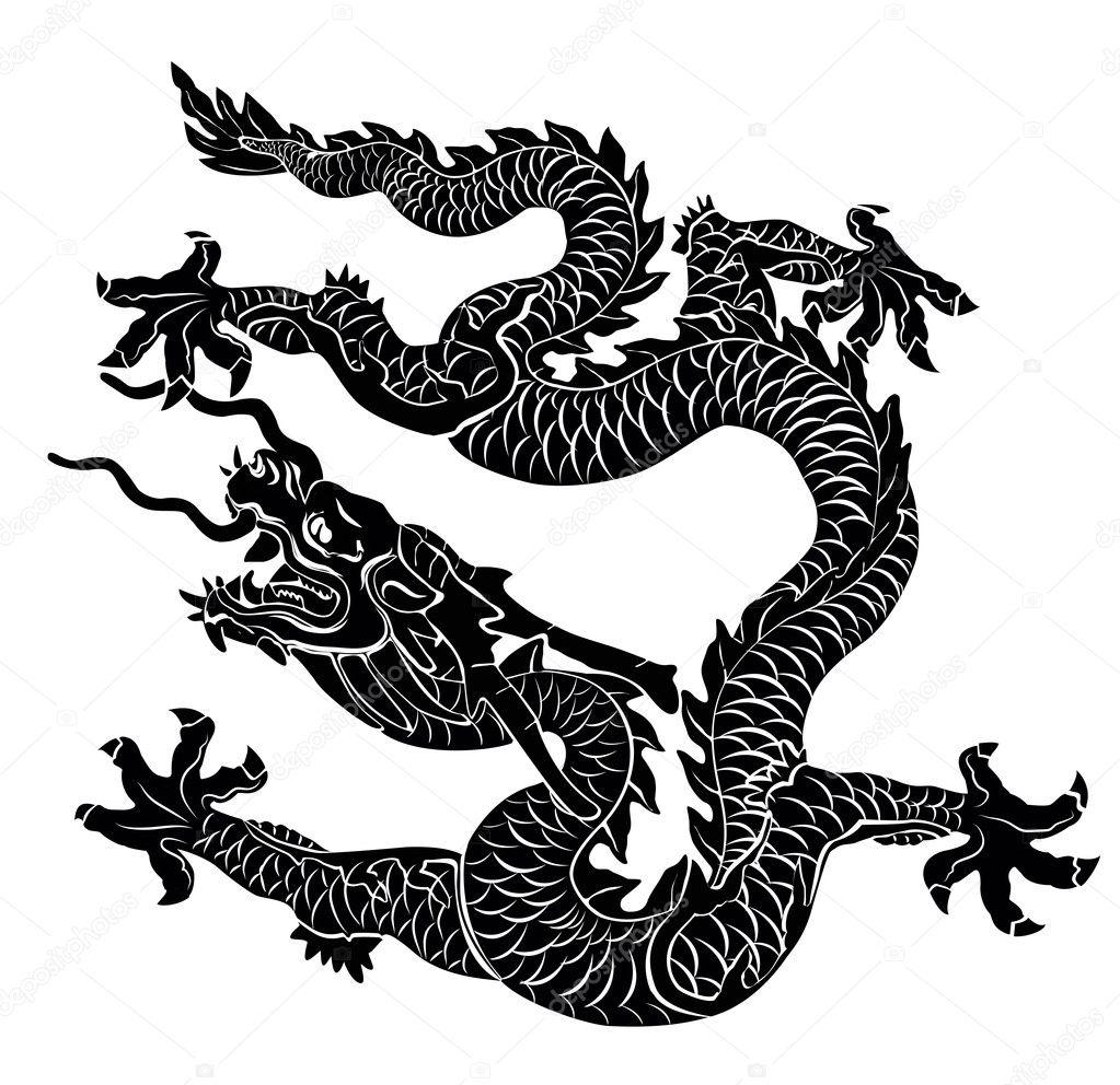Nhìn hình đoán chữ kamen rider-super sentai-ultraman-metal hero - Page 5 Depositphotos_8098401-Chinese-dragon