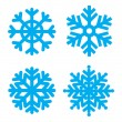 Snowflakes — Stock Vector #8668028