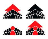 Team logo — Stock Vector