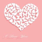 I love You. Valentine — Stock Vector
