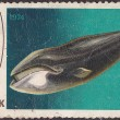 Old post stamp — Stock Photo #9631291