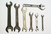 Set ov wrench — Stock Photo