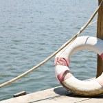 Life buoy — Stock Photo #10041459