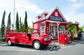 Vintage fire truck — Stock Photo