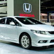 Honda Civic car — Stock Photo