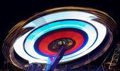 Roundabout at night — Stock Photo